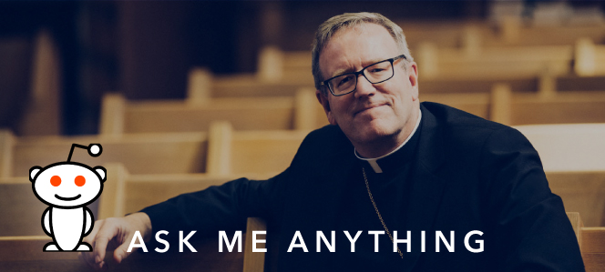 Join Bishop Barron for a Reddit AMA on September 19!