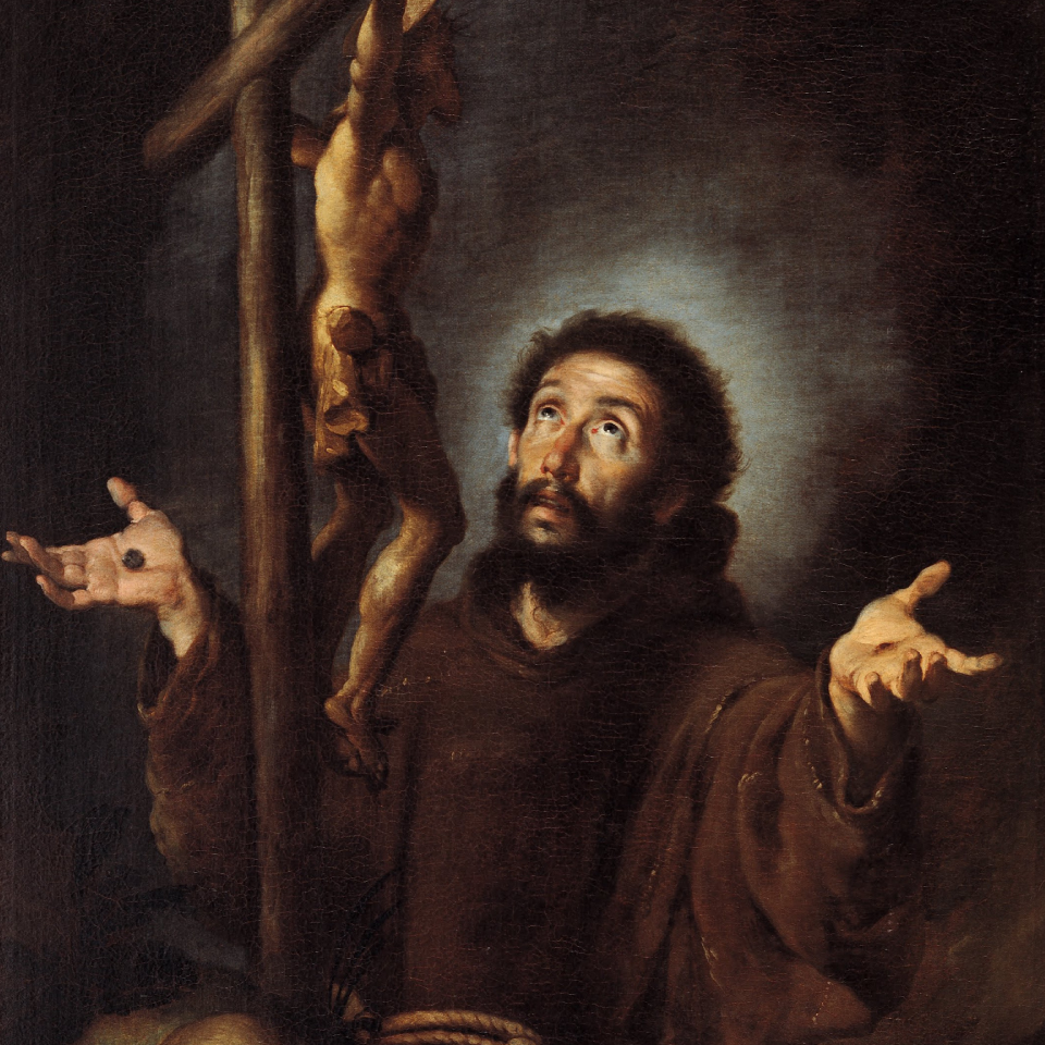 Image result for st francis and jesus