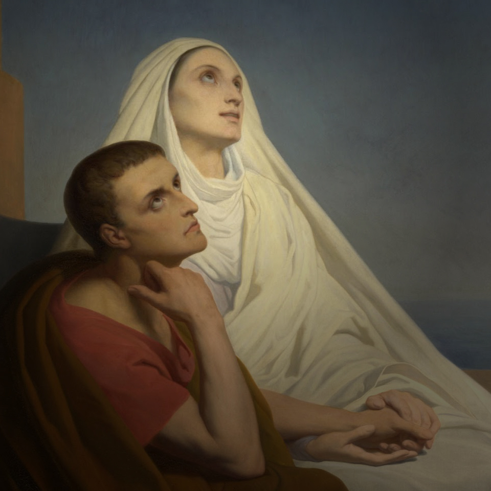 How St  Monica Can Help Your Child Return to the Church | Word on Fire