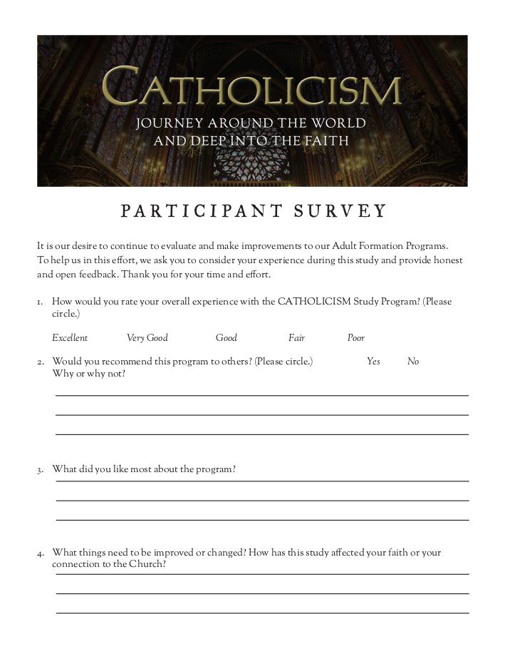 Participant Survey