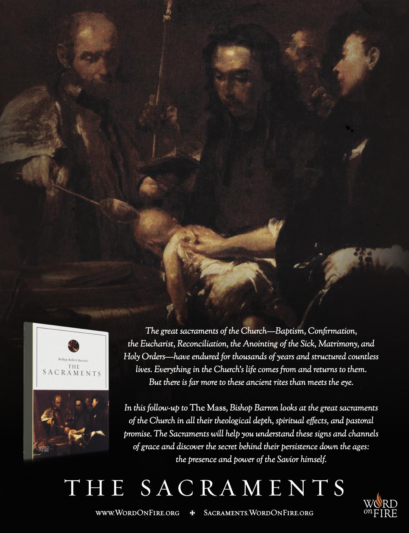 Sacraments Poster