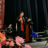 Stretching Out to Great Things: A Commencement Address for the University of St. Thomas